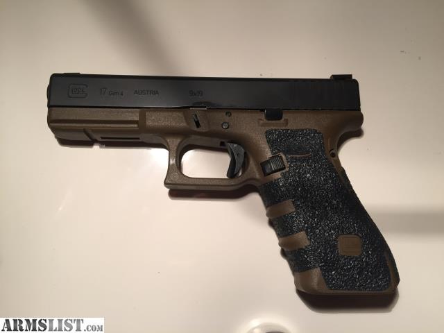 ARMSLIST - For Sale: Custom Glock 17 Gen 4 FDE