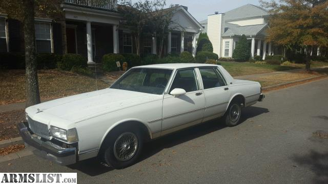 armslist for sale 1989 chevy caprice classic. Black Bedroom Furniture Sets. Home Design Ideas