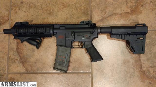 Armslist For Sale Custom Ar Pistol With Blade Brace