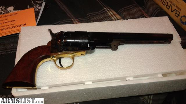 armslist for sale traditions 1851 colt navy revolver pietta 44