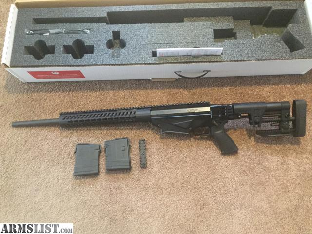 Ps90 For Sale >> ARMSLIST - For Sale: Ruger Precision Rifle 308 Win