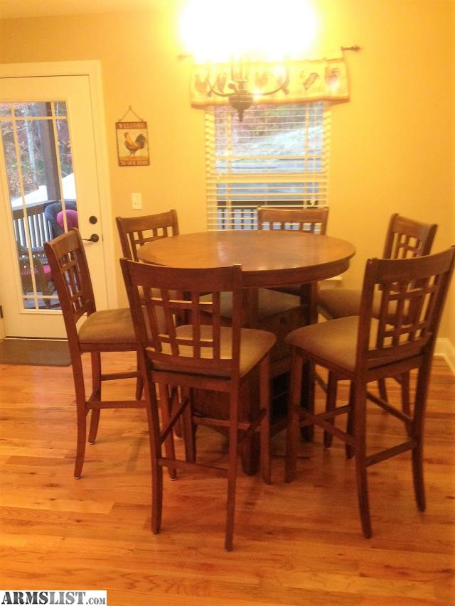 ARMSLIST For Sale kitchen table 6 chairs bottle rack