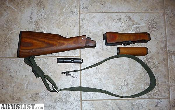 armslist for sale trade ak 47 wood furniture set