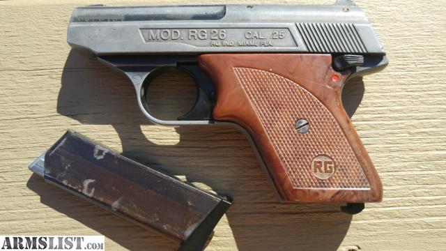 armslist for sale rohm rg model 26 semi auto pistol 25acp. Black Bedroom Furniture Sets. Home Design Ideas
