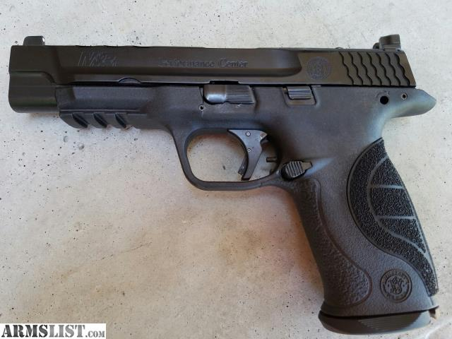 Armslist for sale smith and wesson performance center for M p ported core 9mm