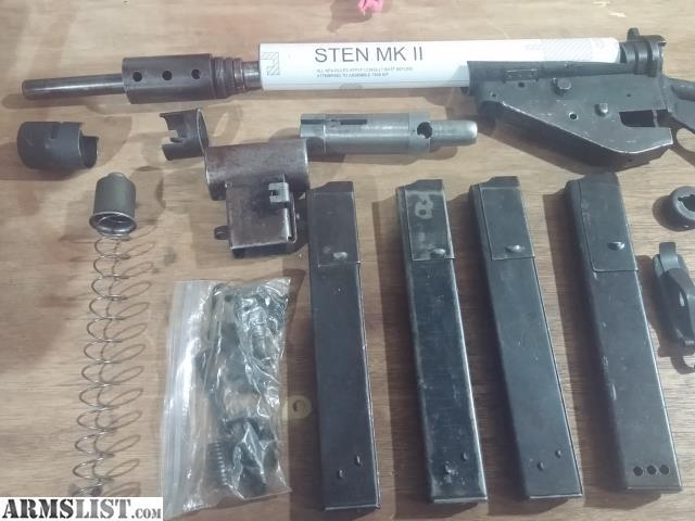 Sten Gun Parts Kit Build