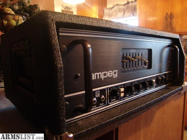 armslist for sale trade ampeg svt ii bass guitar amp tube head w case. Black Bedroom Furniture Sets. Home Design Ideas