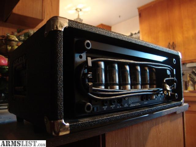 armslist for sale trade ampeg svt ii bass guitar amp tube head w case. Black Bedroom Furniture Sets. Home Design Ideas