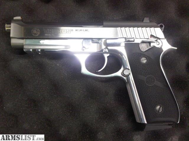 ARMSLIST - For Sale/Trade: TAURUS PT92 AFS 9MM STAINLESS-LNIB