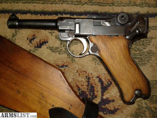 Armslist For Sale Pre Ww2 German P 08 Luger Dwm Slotted