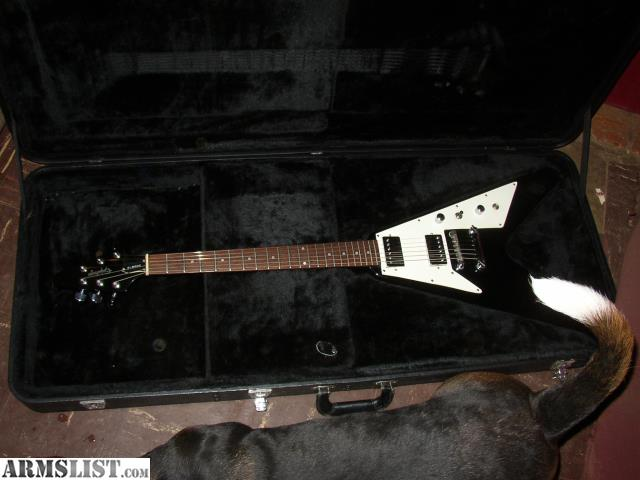 armslist for sale trade gibson epiphone flying v. Black Bedroom Furniture Sets. Home Design Ideas