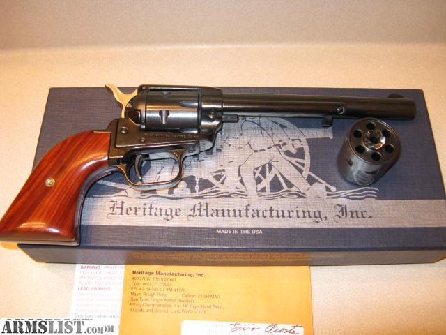 Armslist For Sale Heritage Rough Rider 22 Revolver