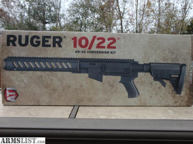armslist for sale ruger 10 22 ar 22 conversion kit