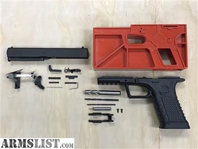 Glock 17 Complete Build Kit With 80 Frame | Amtframe org