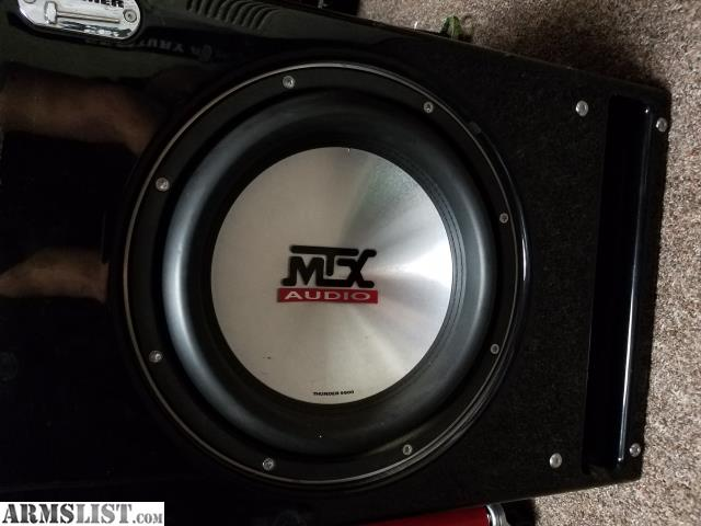 Mtx subwoofers for sale