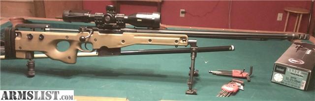 Accuracy International Super Magnum (L115A1 & L115A3 ...