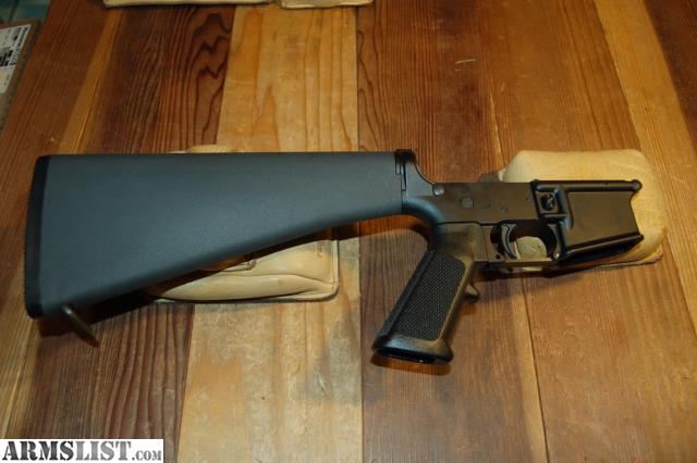 ARMSLIST - For Sale: New-Bushmaster Complete Lower A2 stock