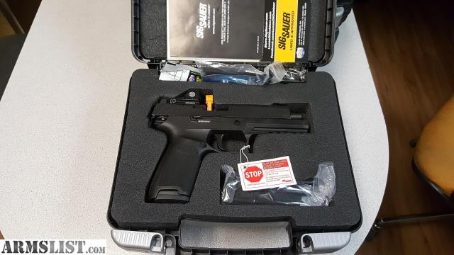 Armslist for sale map call sig 320f 9 bss rx romeo1 reflex 9mm nib