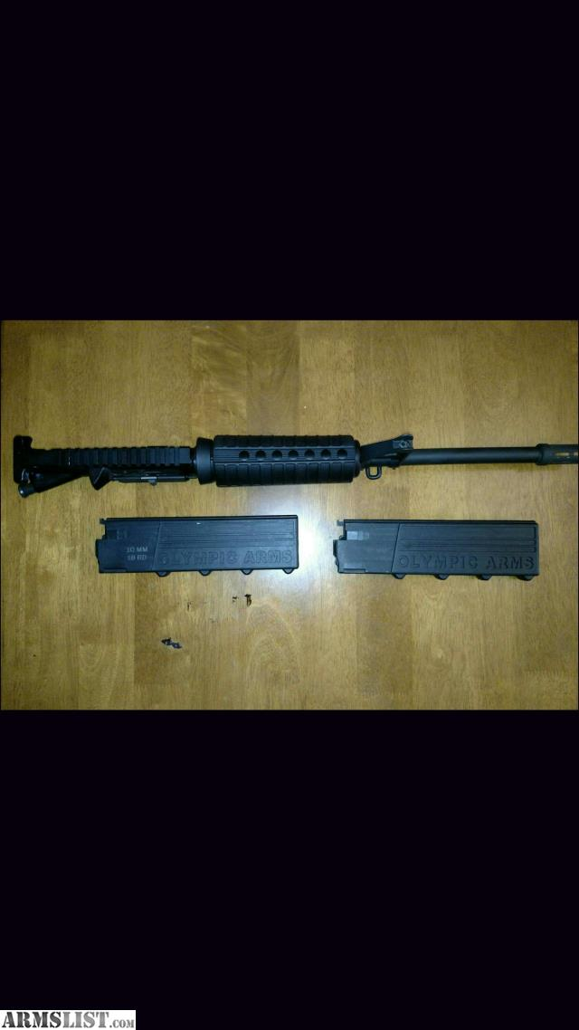 ARMSLIST - For Sale: AR 15 40 S&W 10MM UPPER RECIVE WITH