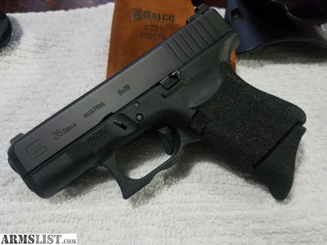 Armslist For Sale Trade One Of A Kind Glock 26 Gen 4