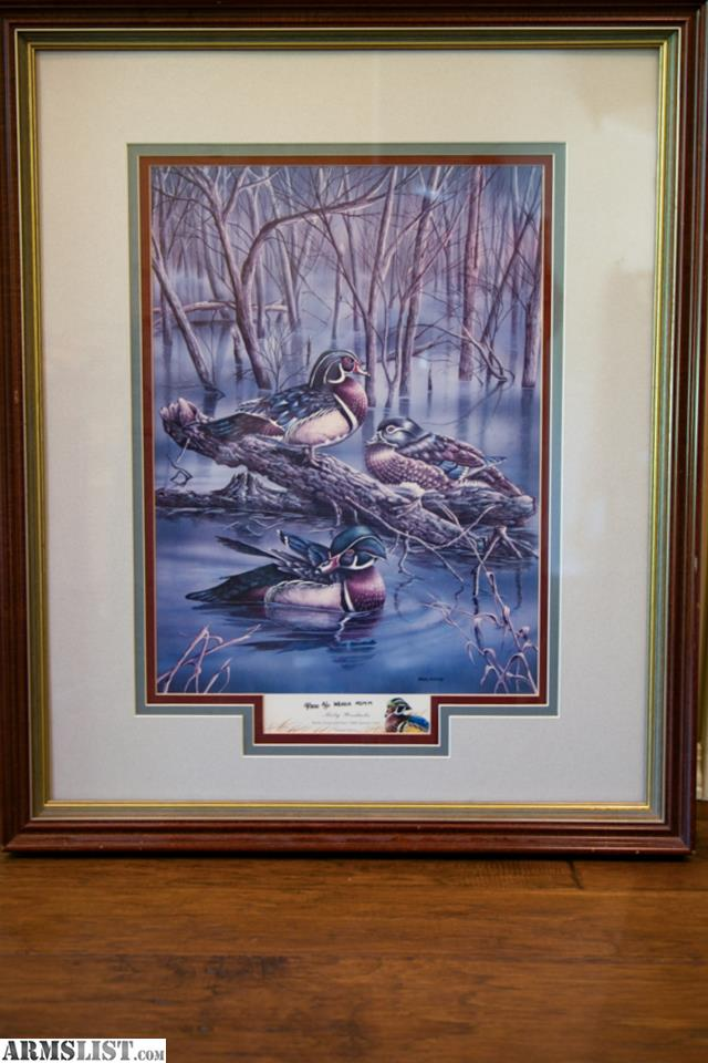 Armslist For Sale Quot Misty Wooducks Quot Ducks Unlimited 1989