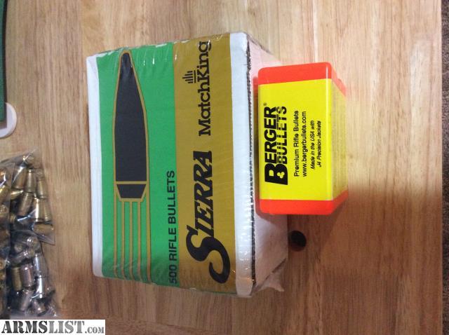 ARMSLIST - For Sale/Trade:  308 Sierra 30 Caliber Berger