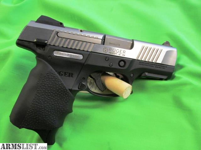 Armslist For Sale Ruger Sr9c Ss With Hogue Grip