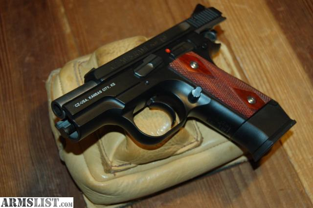 Armslist For Sale Used Cz 75 Rami With Wood Grips Icn5239