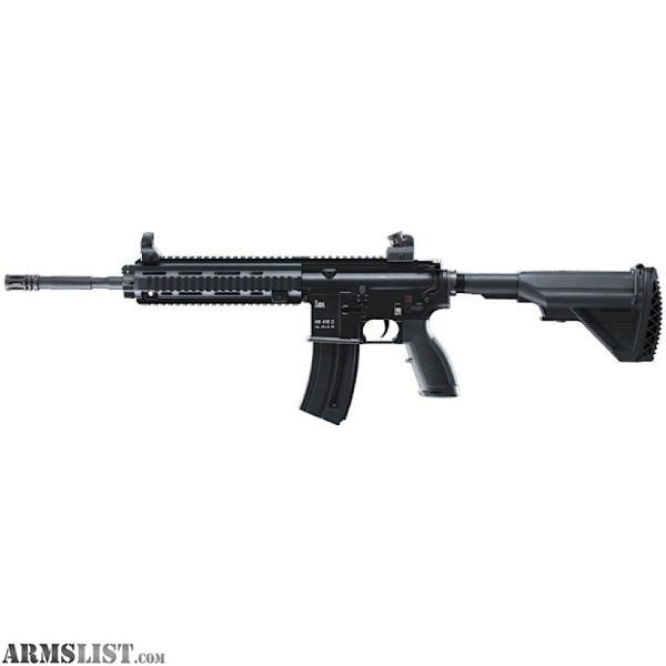 For Sale: Walther 5780301 HK 416D 22 Long Rifle