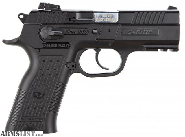 "For Sale: EAA SAR K2P 9MM 9mm 4.6"" 16+1 Black"