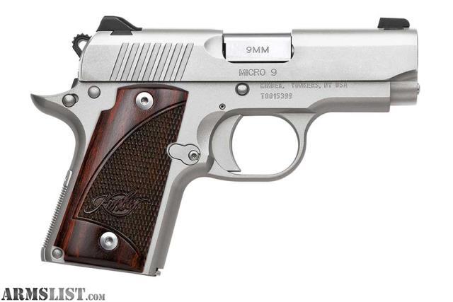Armslist For Sale Trade Bnib Kimber Micro 9mm