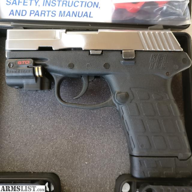 Armslist For Sale Keltec Pf 9 Laser Extended Mag Polished Buffed