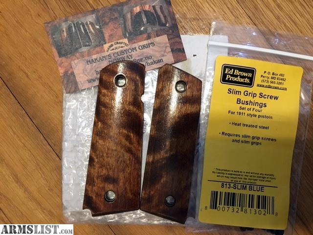 Armslist For Sale Custom 1911 Slim Grips Hakan Pek