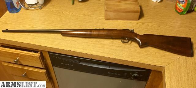 ARMSLIST - For Sale: Winchester Model 67a 22lr s l bolt action rifle mod 67 vintage single