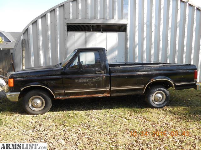 armslist for sale trade 1987 ford f150 custom. Black Bedroom Furniture Sets. Home Design Ideas