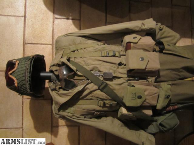 ARMSLIST - For Trade: WTT WW2 US field gear