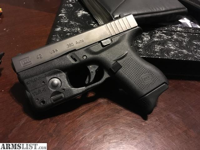 armslist for sale glock 42 w streamlight tlr 6 laser light combo. Black Bedroom Furniture Sets. Home Design Ideas