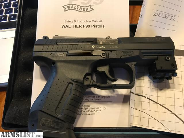 armslist for sale trade walther p99 as rh armslist com Walther PPQ Walther PPS
