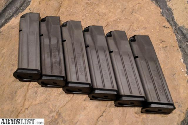 Armslist for sale sig sauer p229 1 15rd 9mm magazines