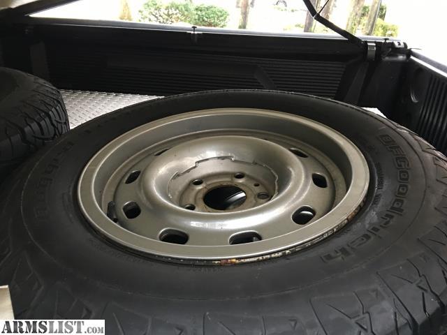 armslist for sale trade 17 dodge ram steel rims with tires. Black Bedroom Furniture Sets. Home Design Ideas