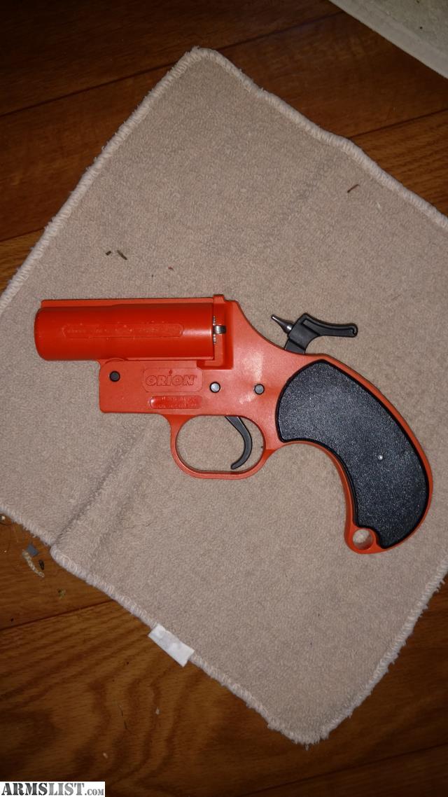 ARMSLIST - For Sale/Trade: Orion 12Ga Flare Gun