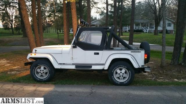 armslist for sale trade 1989 jeep wrangler laredo. Black Bedroom Furniture Sets. Home Design Ideas