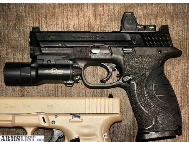 Armslist for sale trade m p core pro series ported 9mm for M p ported core 9mm