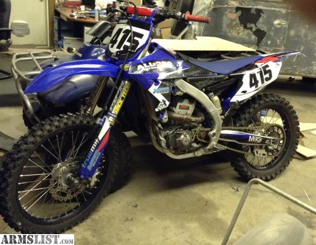 ARMSLIST - For Sale: 2014 Yamaha yz450f dirt bike