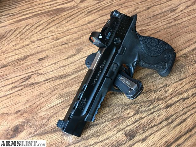 ARMSLIST - For Sale: S&W M&P CORE Performance Center 9mm Ported