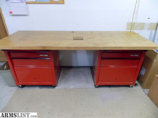 Armslist For Sale Reloading Work Bench W Tool Chests