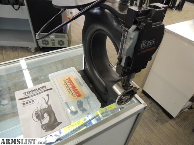 ARMSLIST - For Sale: TIPPMANN BOSS LEATHER SEWING MACHINE