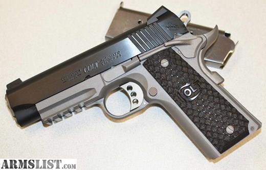 Armslist For Sale New Colt Commander Rail Gun Noccfees
