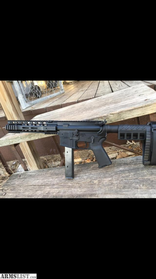 ARMSLIST - For Sale/Trade: CMMG mk9 pdw 9mm ar pistol
