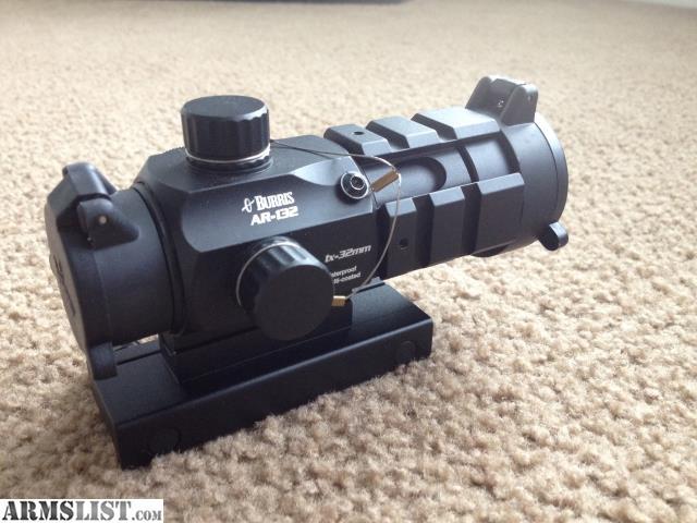 Armslist For Saletrade Burris Ar 132 Red Dot